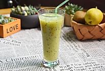 奇异果梨汁#豆果魔兽季邪能饮料#的做法