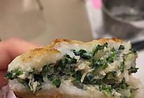 青菜肉糯团饼的做法