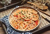 酸甜爽口的茄汁藕片的做法