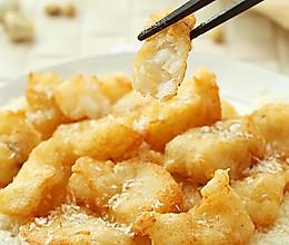 香酥鳕鱼块 的做法