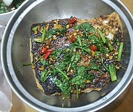 香煎鲩鱼腩的做法