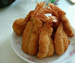 凤尾虾的做法