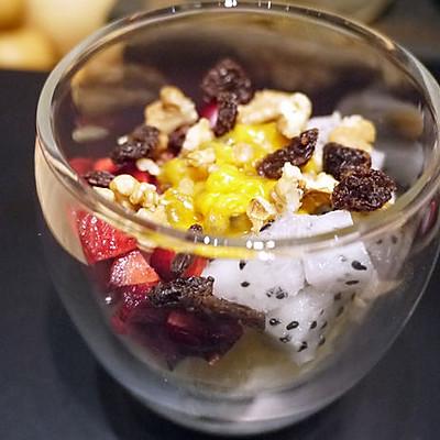 熱帶水果优格冰淇淋