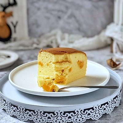 咸蛋黄芝士夹心蛋糕