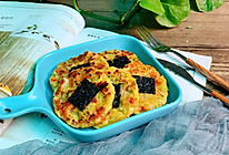#合理膳食 营养健康进家庭#补铁补钙超鲜美的海苔豆腐鲜虾饼的做法