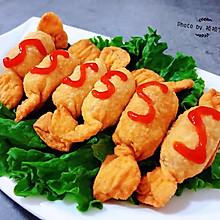 #母亲节,给妈妈做道菜#糖果肠饺