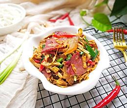 笋干炒腊肉#KitchenAid的美食故事的做法