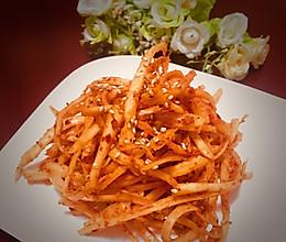 下饭菜朝鲜族拌菜桔梗的做法