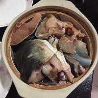 (腐竹)鱼头煲的做法图解2