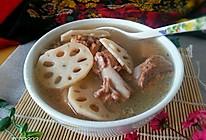 健脾开胃~补血养颜之一莲藕煲猪排骨汤的做法