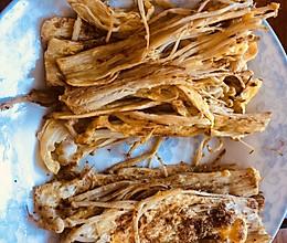 香煎金针菇的做法