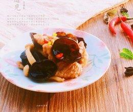 #防霾食谱#木耳菌菇炒肉片的做法