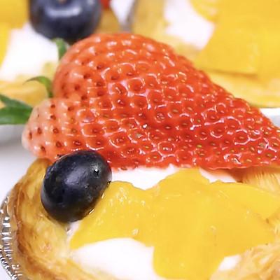 甜甜蜜蜜的水果蛋挞,轻松搞定哦