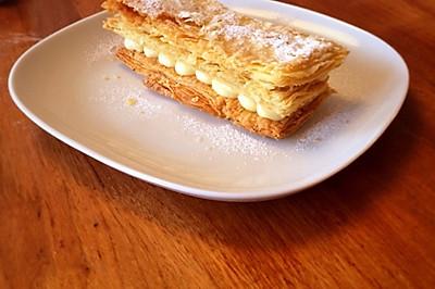 拿破仑酥皮#甜蜜厨神#