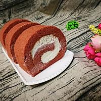 红丝绒奶油蛋糕卷的做法图解26