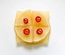 快手腌制脆萝卜(开胃小菜)的做法
