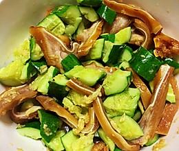 黄瓜拌猪耳朵的做法
