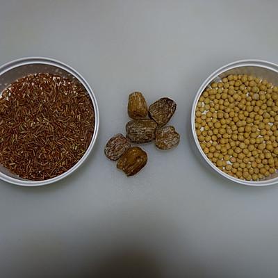 红米豆浆的做法 步骤1