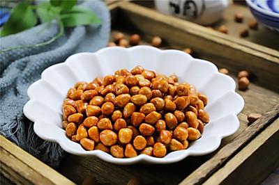 酥脆爽口,越吃越香的油炸花生米