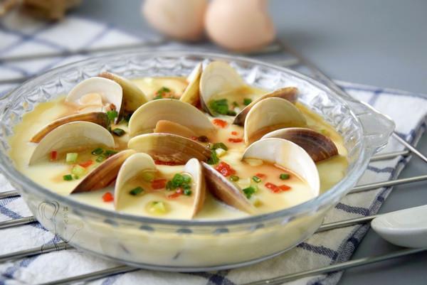 鲜美无比的蛤蜊蒸蛋的做法