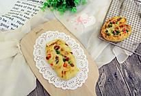 杂蔬火腿芝士面包(液种法)的做法