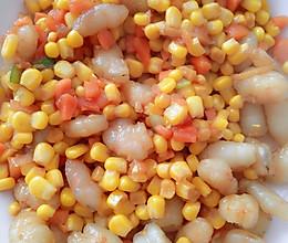 虾仁玉米胡萝卜的做法