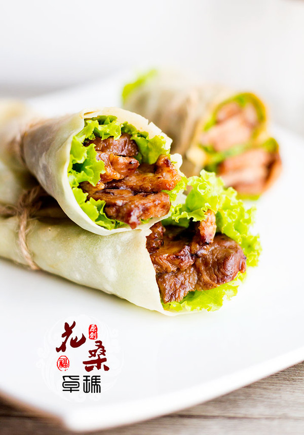 【蜜汁叉烧肉卷饼】大口吃肉贴秋膘的做法