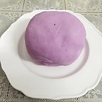 紫薯南瓜饼的做法图解4