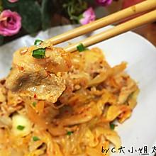 泡菜炒肥羊