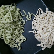 手擀蔬菜面条!(含饺子皮制作)