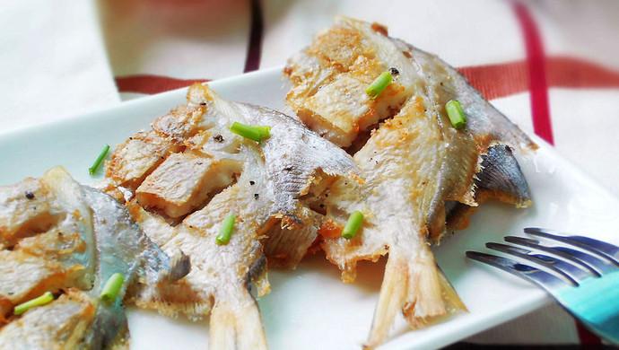 香煎小鲳鱼