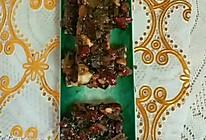 """#美食说出""""新年好""""#红枣芝麻核桃糕的做法"""