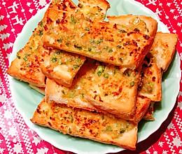 蒜蓉面包片的做法