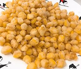 拿手玉米粒的做法
