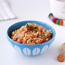 番茄时蔬烩饭#快乐宝宝餐#