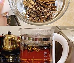 熬夜急救!!酒后排毒护肝茶,效果惊人!!的做法