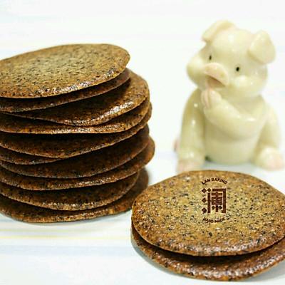 芝麻瓦片(只用蛋清的配方)