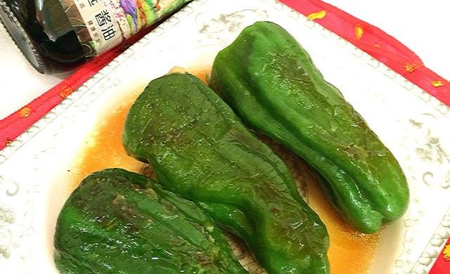 #菁选酱油试用#之虎皮青椒酿肉