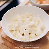 虾仁豆腐蒸水蛋的做法图解1