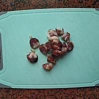 腊肠炒荷兰豆的做法图解2