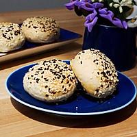 「素」苏式椒盐麻仁月饼#手作月饼#