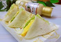 #321沙拉日#迷你三明治的做法