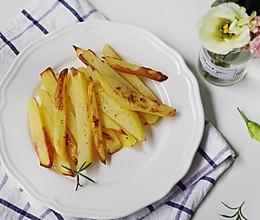 不用一滴油,健康烤薯条的做法