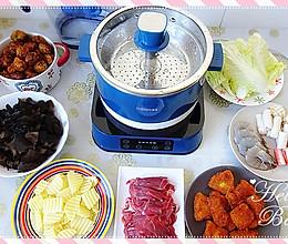 羊肉蔬菜火锅的做法