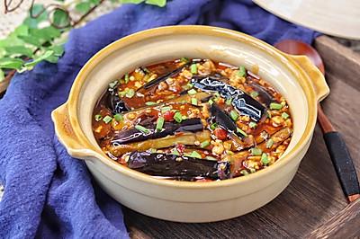 開胃下飯菜,巨好吃的家常魚香茄子煲