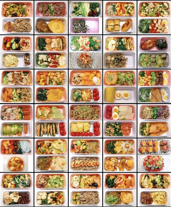带你边吃边瘦- -30天不重样的减脂餐
