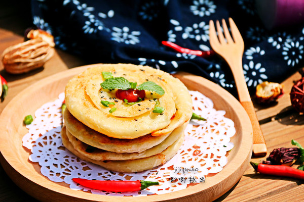 洋葱小饼,妈妈的味道的做法