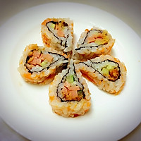 樱花卷寿司的做法图解14