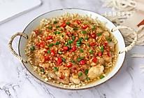 #福气年夜菜#鲜美嫩滑的蒜蓉辣酱蒸龙利鱼的做法
