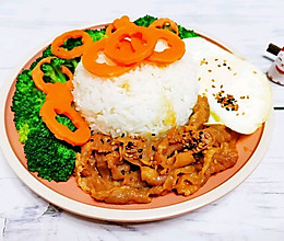 日式肥牛拌饭,好吃到一粒米饭都不剩~
